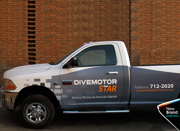 ploteo vehicular new brand
